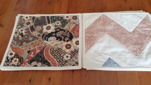 patchwork table mats