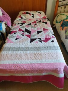 Pretty in Pink Single Quilt